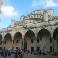Photo taken at Blue Mosque by Nedim Y. on 7/21/2013