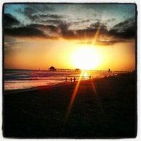 Photo taken at Huntington Beach Bike Trail & Boardwalk by @joe4pres on 5/27/2013
