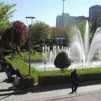 Photo taken at Güvenpark by Muhammed Ali H. on 4/24/2013