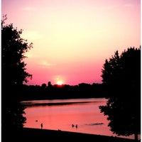 Снимок сделан в Оболонский пляж пользователем ЧиКк :. 7/7/2013