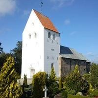 Photo taken at Skærup Kirke by Henrik Paaske K. on 7/15/2013