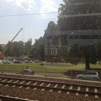Photo taken at Bahnhof Dresden-Friedrichstadt by Junior M. on 8/6/2013
