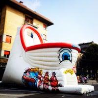 Photo taken at Via Borgo Palazzo by Nicola P. on 9/28/2014