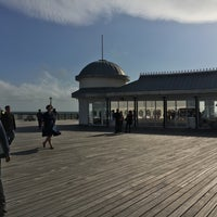 Photo taken at Hastings Pier by Paula C. on 8/17/2017