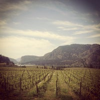 Photo taken at Blue Mountain Winery by Field Guide on 5/11/2013