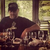 Photo taken at Miradoro Restaurant at Tinhorn Creek Vineyard by Field Guide on 5/27/2013