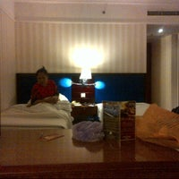 Photo taken at REDTOP Hotel & Convention Centre by Anzarine L. on 2/8/2013