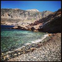 Photo taken at Telendos Island by 🔹Maria L🔹 on 6/16/2013