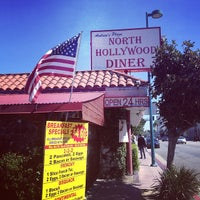 Photo taken at North Hollywood Diner by Connor C. on 3/10/2013