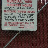 Photo taken at West Allis City Yard by Margaret W. on 6/2/2014