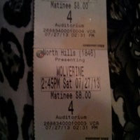 Photo taken at Regal Cinemas North Hills 14 by Jehnnisa D. on 7/27/2013