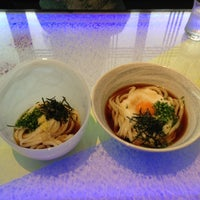 Photo taken at Udon dining つるまる Gee by Takanori T. on 5/26/2013