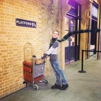 Photo taken at Platform 9¾ by Misato on 9/8/2013