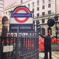 Photo taken at Bank London Underground and DLR Station by Misato on 9/6/2013