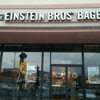 Photo taken at Einstein Bros Bagels by Garry E. on 11/4/2015