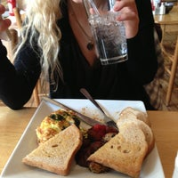 Photo taken at Corner Cafe by Taisa H. on 1/25/2013
