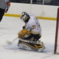 Photo taken at Dr. John J. McMullen Hockey Rink (USNA Brigade Sports Complex) by Marshall D. on 2/7/2014