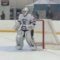 Photo taken at Dr. John J. McMullen Hockey Rink (USNA Brigade Sports Complex) by Marshall D. on 2/6/2015