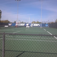 Photo taken at University Of South Alabama Tennis Courts by George P. on 4/2/2013