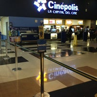 Photo taken at Cinépolis Multicentro by Marcos S. on 3/1/2013