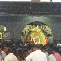 Photo taken at Shirdi Sai Baba Temple (Samadhi Mandir) by Ajay N. on 1/26/2013