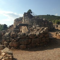 Photo taken at Nuraghe Palmavera by Giulia R. on 8/15/2013
