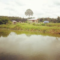 Photo taken at Kolam mancing Kambitin by Aditia A. P. on 4/12/2013