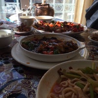 Photo taken at Xinjiang Restaurant by SaltyMilkTea on 3/29/2014