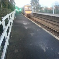 Photo taken at Saxmundham Railway Station (SAX) by Noah Y. on 12/11/2013