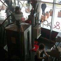 Photo taken at Cafe & Factory by Srđan B. on 2/9/2013