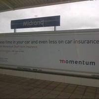 Photo taken at Gautrain Midrand Station by Lesego M. on 4/20/2013