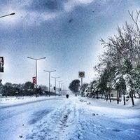 Photo taken at Kıbrıs Şehitleri Caddesi by Tuubaaa on 1/7/2017