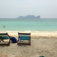 Photo taken at Phi Phi Islands by Victoria D. on 4/10/2013