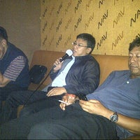 Photo taken at NAV Karaoke keluarga by Aan T. on 11/14/2012