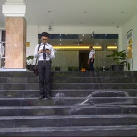 Photo taken at Bank Mandiri Juanda by Aan T. on 2/25/2013