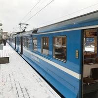 Photo taken at Saltsjöbaden (L) by Göran H. on 11/6/2016