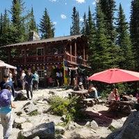 Photo taken at Lake Agnes Tea House by Ilonka M. on 7/7/2017