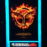 Photo taken at Regal Cinemas South 10 by Lisa A. on 11/23/2014