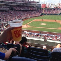 Photo taken at Nationals Park by Joel W. on 7/27/2013