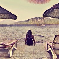 Photo taken at Marmaris Park Beach by Ника К. on 8/28/2016