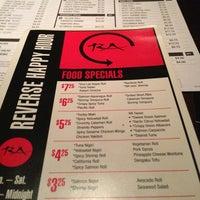 Photo taken at RA Sushi Bar Restaurant by Rikki G. on 1/12/2013
