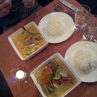 Photo taken at Song Thai Restaurant & Bar by Cassandra G. on 1/27/2013