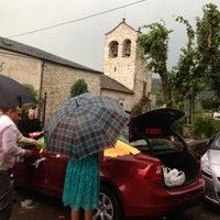 Photo taken at Iglesia by Bruno B. on 7/13/2013