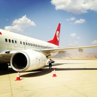 Photo taken at Şırnak Şerafettin Elçi Airport (NKT) by Emre D. on 8/21/2013