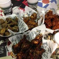 Photo taken at Wingstop by Tiks O. on 3/10/2013