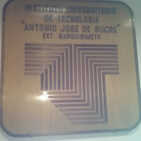 "Photo taken at Instituto Universitario de Tecnología ""Antonio José de Sucre"" by Maria M. on 1/31/2013"