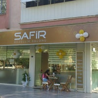 Photo taken at Safir Güzellik Salonu by Özgür T. on 5/28/2013