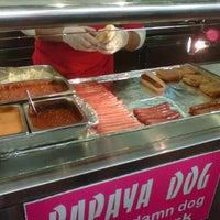 Photo taken at Papaya Dog by John W. on 11/13/2012
