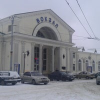 Photo taken at Poltava-Kyivska Railway Station by Варя М. on 1/24/2013