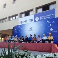 Photo taken at UIB - Universitat de les Illes Balears by Irene S. on 7/24/2013